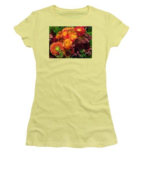 Romance Of Autumn Women's T-Shirt (Athletic Fit)