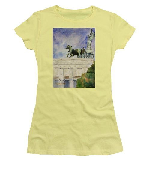 Rome Souvenir Women's T-Shirt (Athletic Fit)