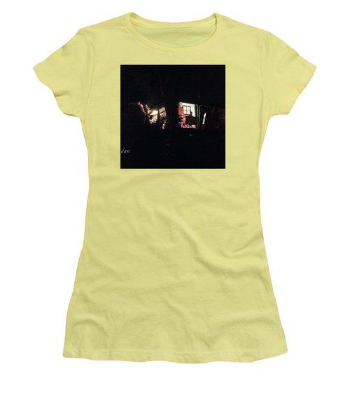 Room In The Sky Women's T-Shirt (Junior Cut) by Felipe Adan Lerma