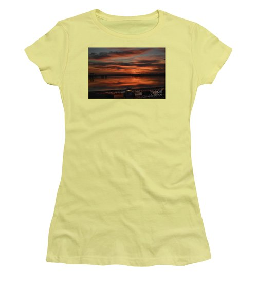 Room With A View Women's T-Shirt (Junior Cut) by Kathy Baccari