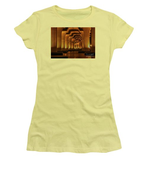 Roosevelt Night Shot Women's T-Shirt (Athletic Fit)