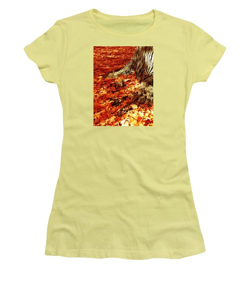 Rooted In New England Women's T-Shirt (Athletic Fit)