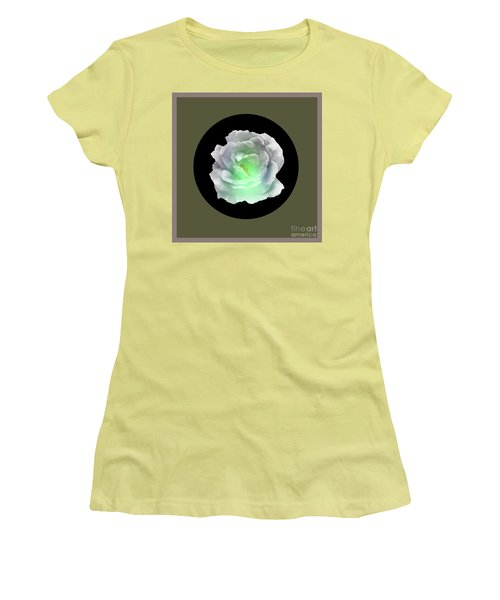 Rose 8-4 Women's T-Shirt (Junior Cut) by John Krakora