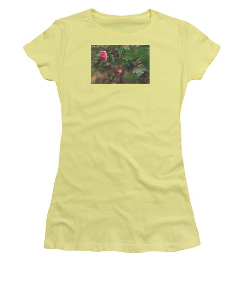 Rose Garden Women's T-Shirt (Athletic Fit)