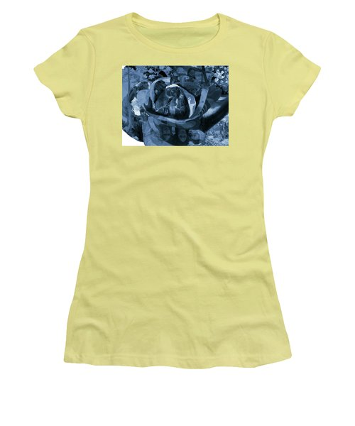 Rose No 1 Women's T-Shirt (Junior Cut) by David Bridburg