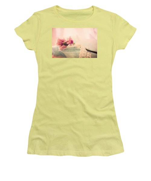 Roses And Lace Women's T-Shirt (Athletic Fit)