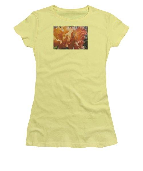Women's T-Shirt (Junior Cut) featuring the photograph Roses by Cassandra Buckley