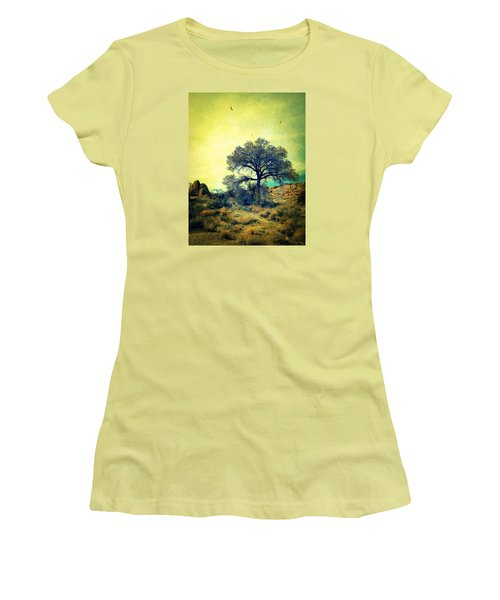 Women's T-Shirt (Junior Cut) featuring the photograph Rough Terrain by Glenn McCarthy Art and Photography