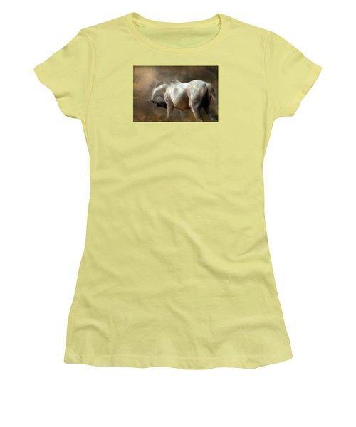 Roundness Women's T-Shirt (Junior Cut) by Dorota Kudyba