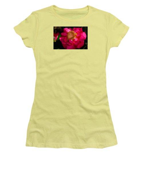 Ruffles Of Pink  Women's T-Shirt (Junior Cut) by John Harding