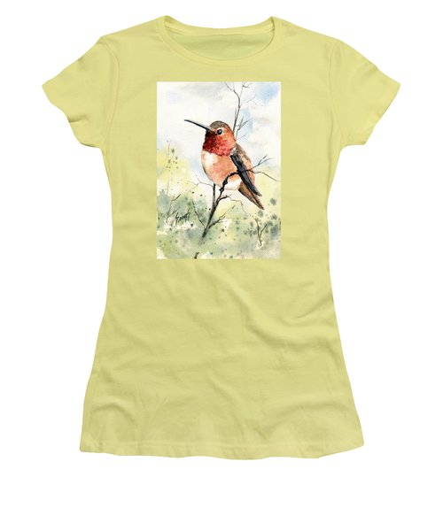 Rufous Hummingbird Women's T-Shirt (Athletic Fit)