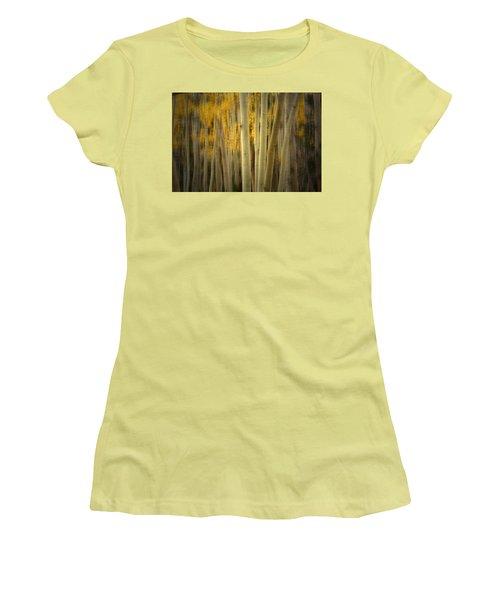 Women's T-Shirt (Junior Cut) featuring the photograph Run Wild  by Mark Ross