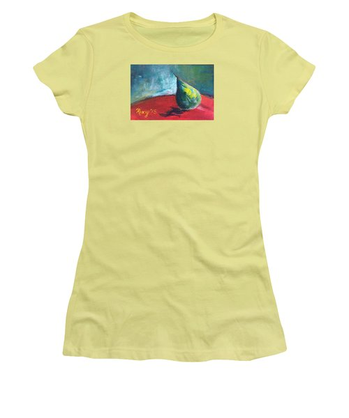 Runaway Pear Women's T-Shirt (Athletic Fit)