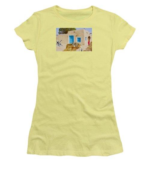 Rural Life  Women's T-Shirt (Junior Cut) by Manjot Singh Sachdeva