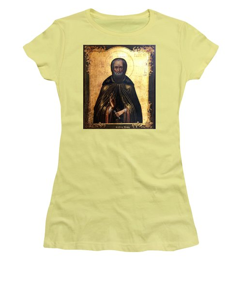 Russian Icon Women's T-Shirt (Athletic Fit)
