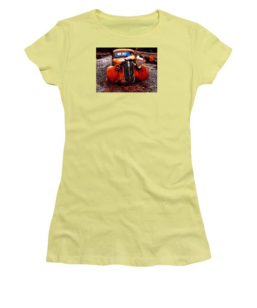 Rust In Peace Women's T-Shirt (Junior Cut) by Sadie Reneau