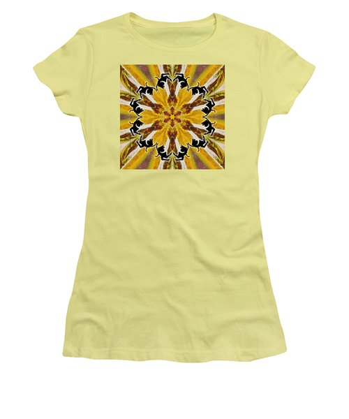 Women's T-Shirt (Athletic Fit) featuring the digital art Rustic Lifespring by Derek Gedney