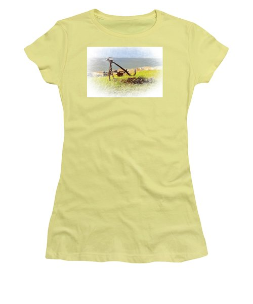 Rusty Anchor Women's T-Shirt (Athletic Fit)