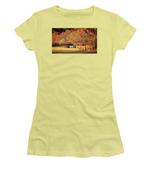 Rusty And Oldie Women's T-Shirt (Junior Cut) by Eduard Moldoveanu