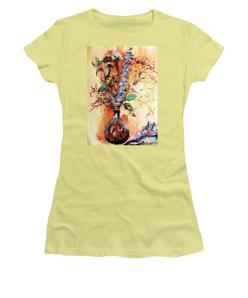 Rusty Arrangement Women's T-Shirt (Athletic Fit)
