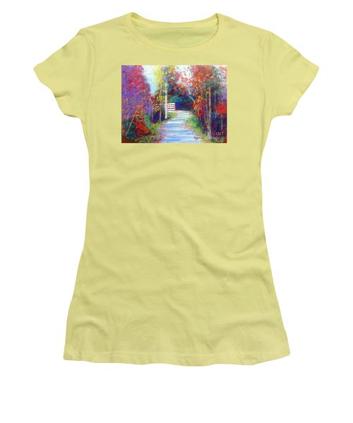 Sackville Walking Trail Women's T-Shirt (Junior Cut) by Rae  Smith