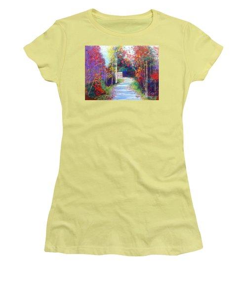 Sackville Walking Trail Women's T-Shirt (Athletic Fit)