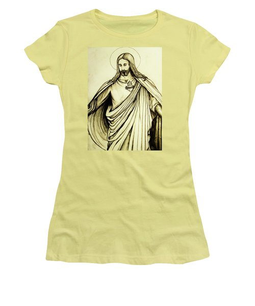 Sacred Heart Women's T-Shirt (Athletic Fit)