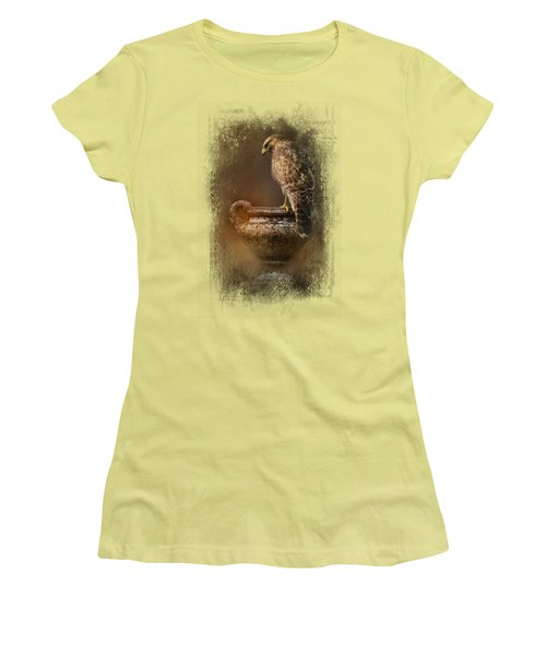 Sacred Moment Women's T-Shirt (Junior Cut) by Jai Johnson
