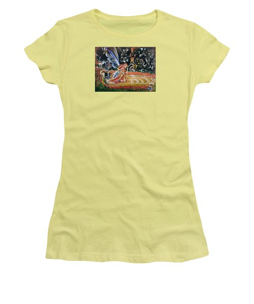Sacred Pool 2 Women's T-Shirt (Athletic Fit)
