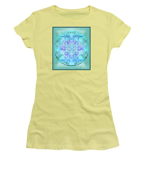 Sacred Symbols Out Of The Void 3b1 Women's T-Shirt (Junior Cut) by Christopher Pringer