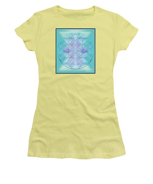 Sacred Symbols Out Of The Void A2b Women's T-Shirt (Junior Cut) by Christopher Pringer