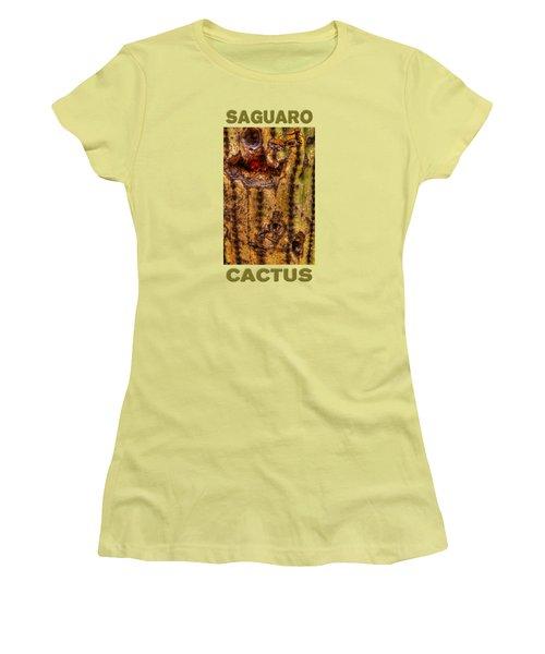 Saguaro Detail No. 18 Women's T-Shirt (Athletic Fit)