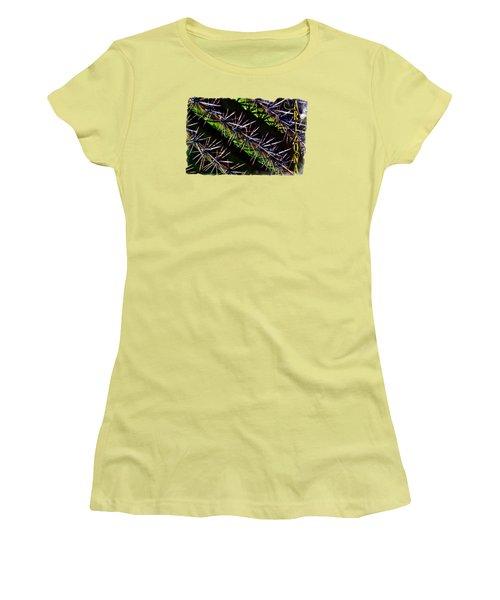 Saguaro Detail No. 28 Women's T-Shirt (Athletic Fit)