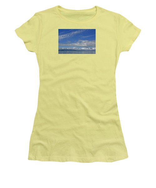 Sailing In The San Juan Islands Women's T-Shirt (Athletic Fit)
