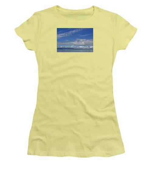 Sailing In The San Juan Islands Women's T-Shirt (Athletic Fit)
