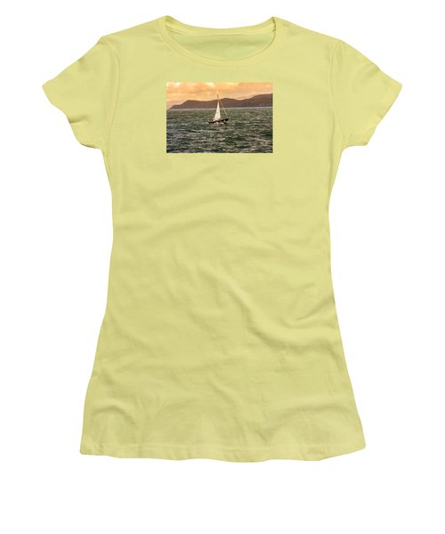 Sailing Outer Hebrides Women's T-Shirt (Athletic Fit)