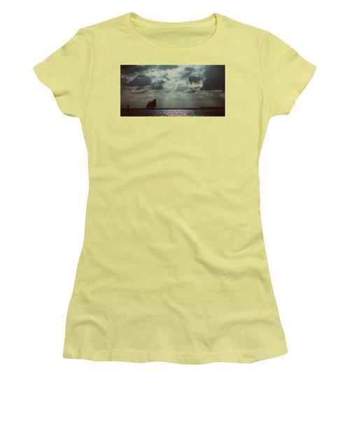 Sailing Women's T-Shirt (Junior Cut) by Scott Meyer