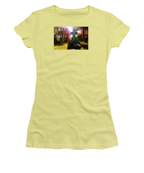 Women's T-Shirt (Junior Cut) featuring the photograph Saint Mary by Michael Rucker