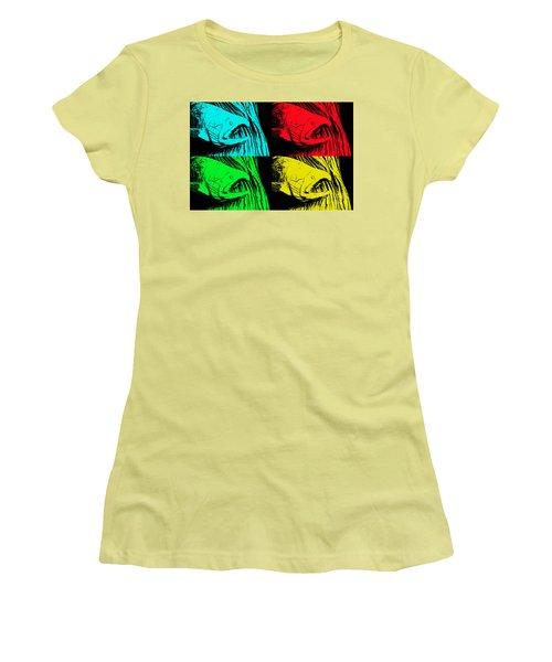 Salmon Pops Women's T-Shirt (Athletic Fit)