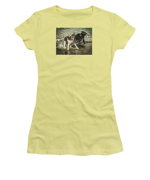 Salt And Shake Women's T-Shirt (Athletic Fit)