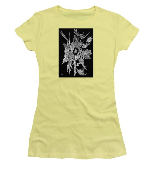 Salty Duscle Women's T-Shirt (Junior Cut) by Charles Cater