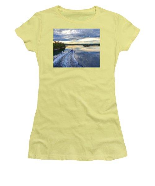 Sambro Basin II Nova Scotia Women's T-Shirt (Athletic Fit)