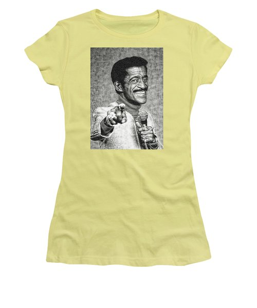 Sammy Davis Jr - Entertainer Women's T-Shirt (Athletic Fit)