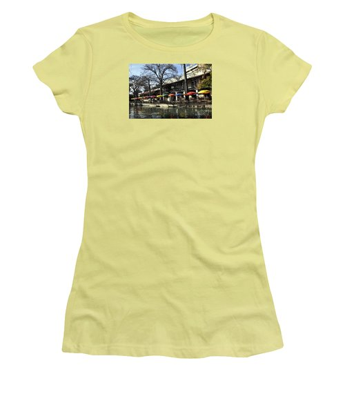 San Antonio River Walk 2 Women's T-Shirt (Athletic Fit)