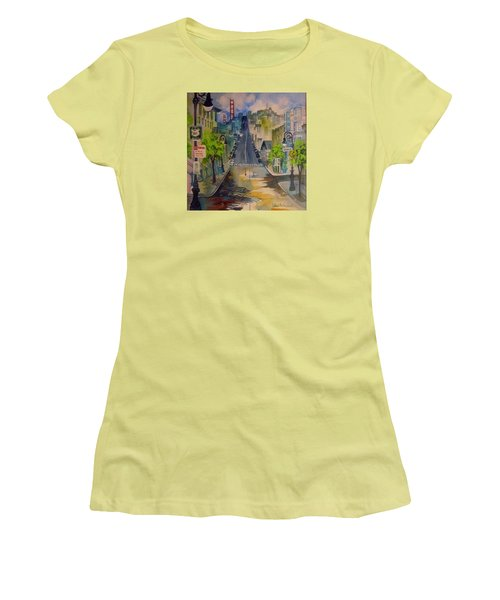 San Fran Street Women's T-Shirt (Athletic Fit)