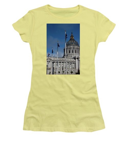 San Francisco City Hall Women's T-Shirt (Athletic Fit)