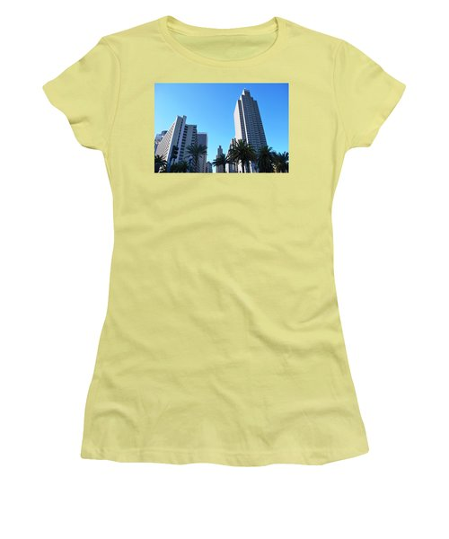 San Francisco Embarcadero Center Women's T-Shirt (Athletic Fit)