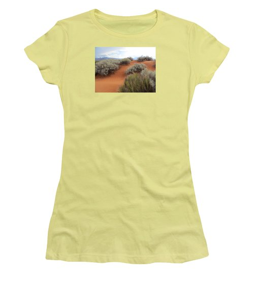 Sand And Sagebrush Women's T-Shirt (Athletic Fit)