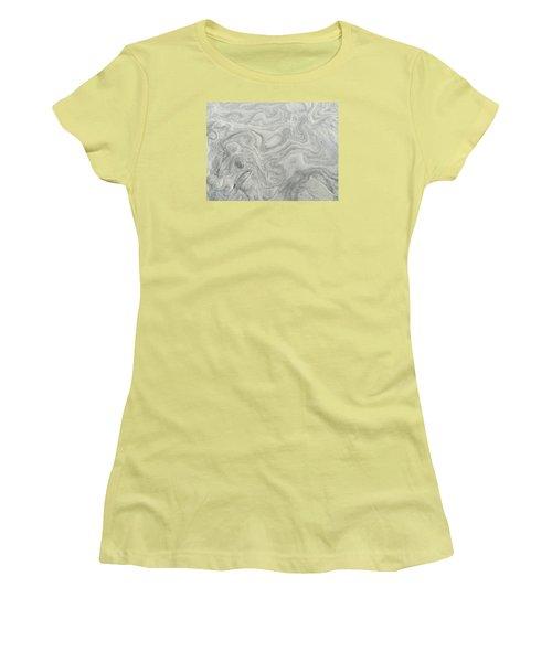 Sand Sculpture Women's T-Shirt (Junior Cut) by Christine Lathrop
