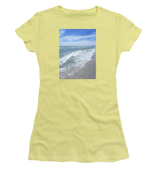 Sand, Sea, Sun, No.2 Women's T-Shirt (Athletic Fit)